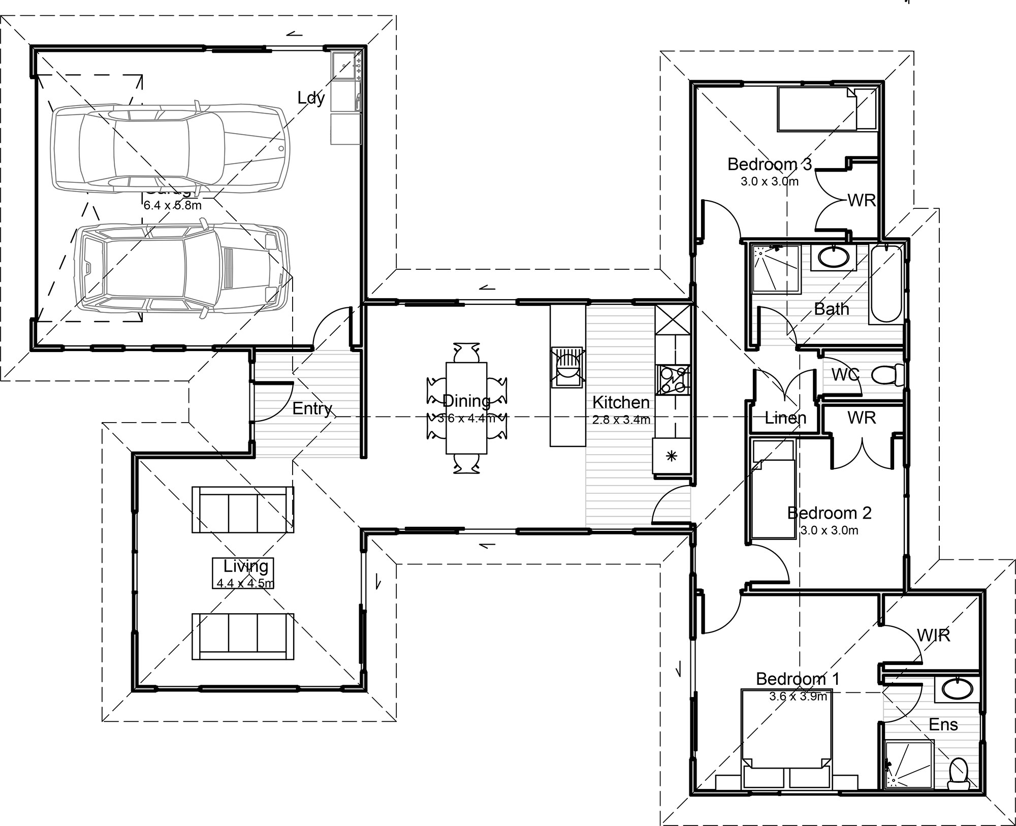 160m2 ultimate homes nz for Floor plans for 160 000