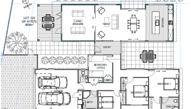 Beach House Option 2 floor plan